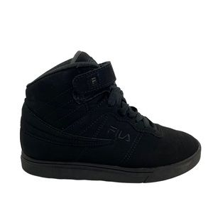 Fila Vulc Youth Solid Black High Top Sneaker